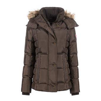Warme Trendy Winterjas.Winterjassen Heerlijk Warm Horze