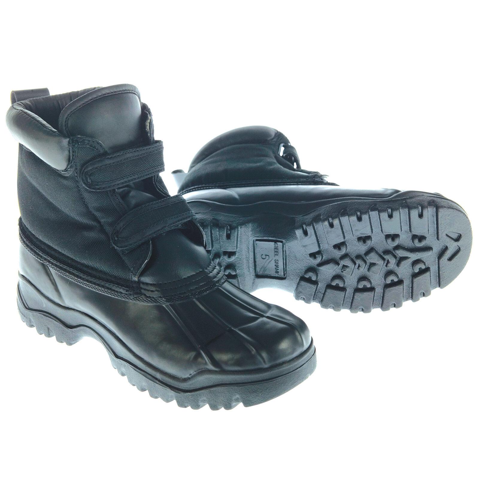 Covalliero Chaussures Noires Pour L'hiver Avec Des Hommes De Fermeture Velcro 5Yz1q